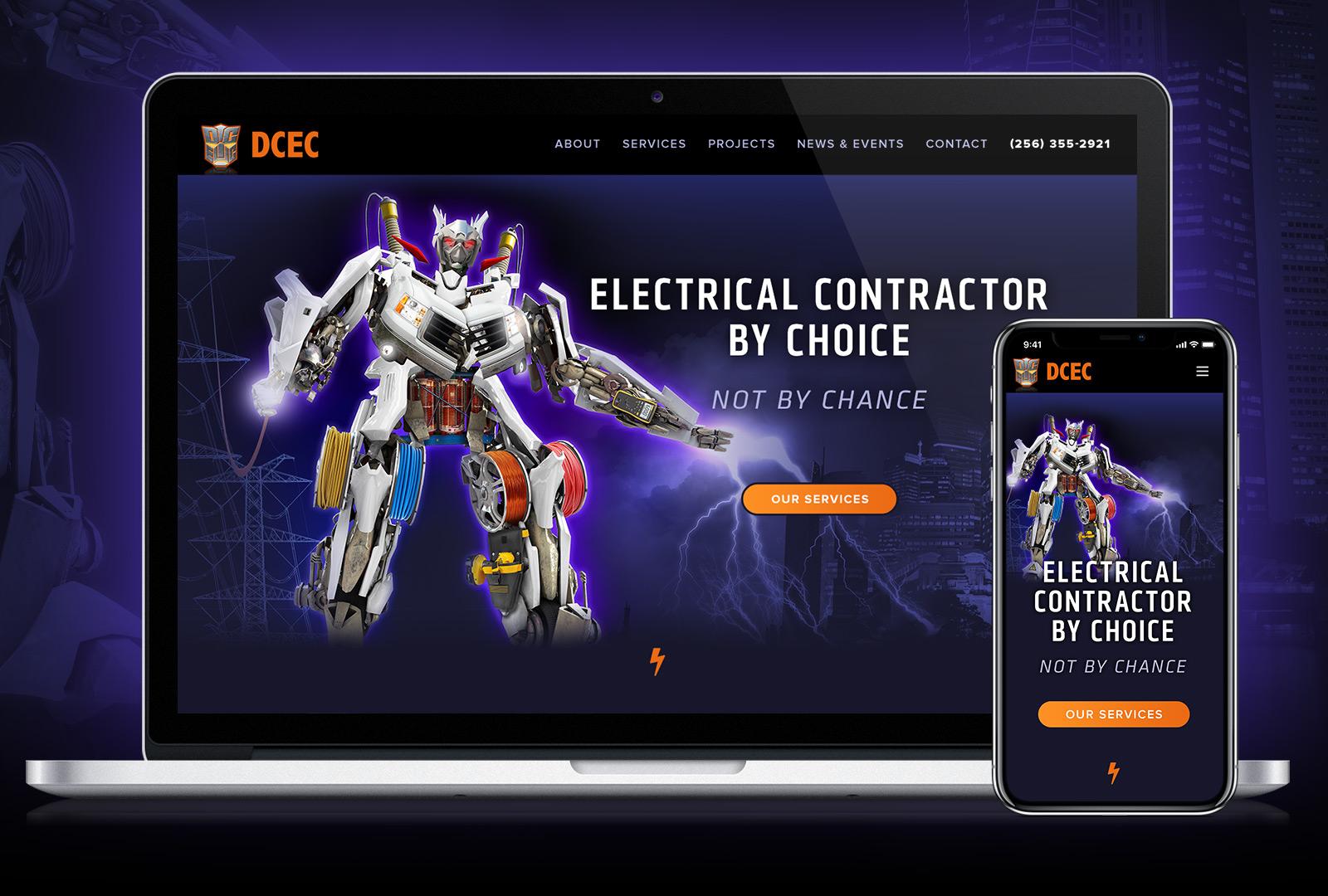 New DCEC Web Site
